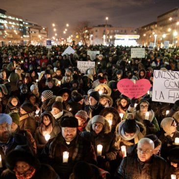 Appel à la solidarité avec les victimes de l'attaque terroriste de la mosquée de Québec