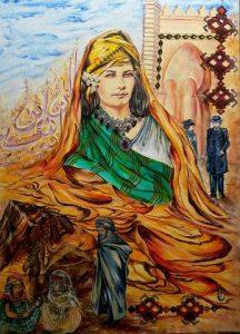 Exposition d'œuvres d'art de l'artiste peintre Sihem BADJI