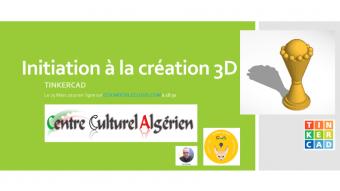 Initiation à la création 3D