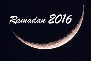 Annonce du premier jour du mois de Ramadhan 2016