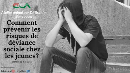 Atelier: Comment prévenir les risques de déviance sociale chez les jeunes ?